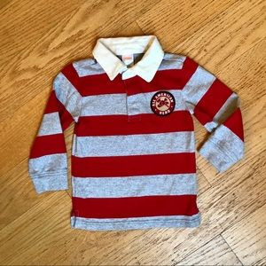 Gymboree Striped rugby shirt
